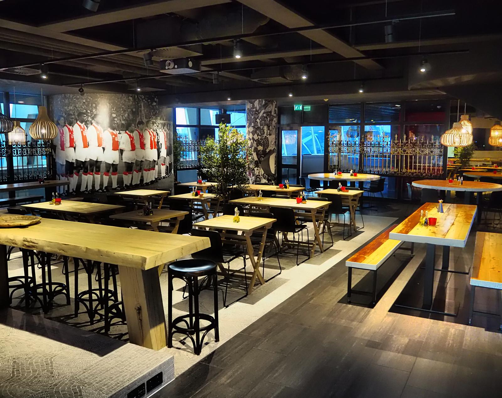 Skybox Ajax Amsterdam Arena Rome 96 restaurant Jeroen de Nijs