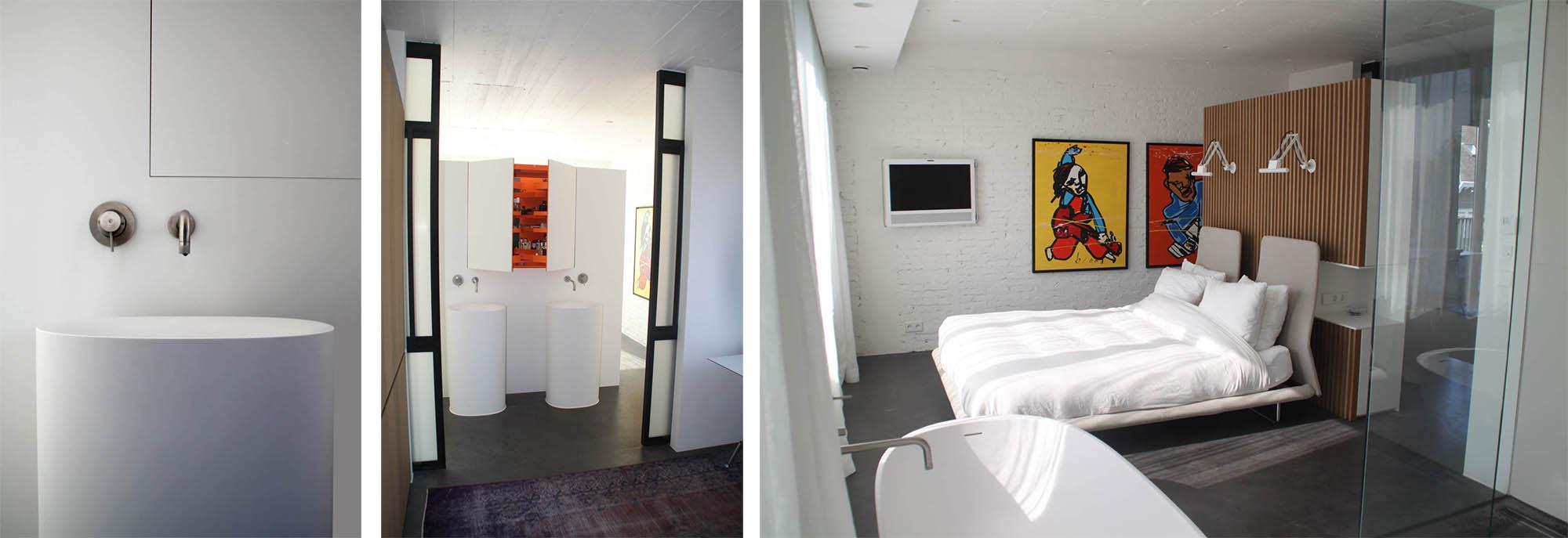 bathroom-bedroom,penthouse-amsterdam, jeroen de nijs