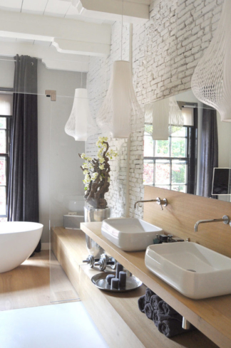 Monumental mansion bathroom, Abcoude