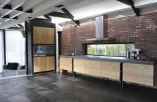 Brick villa kitchen, Heiloo
