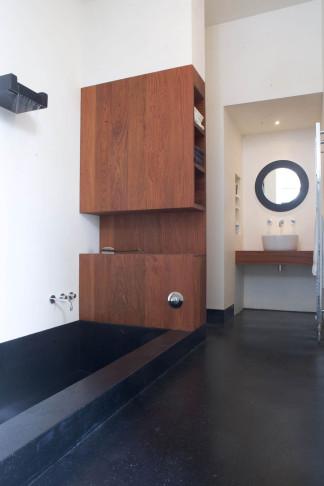 Former sawmill bathroom, Amsterdam