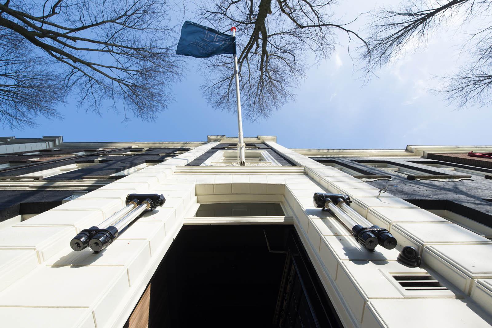 Facade, Piet hein hotel, by Jeroen de Nijs