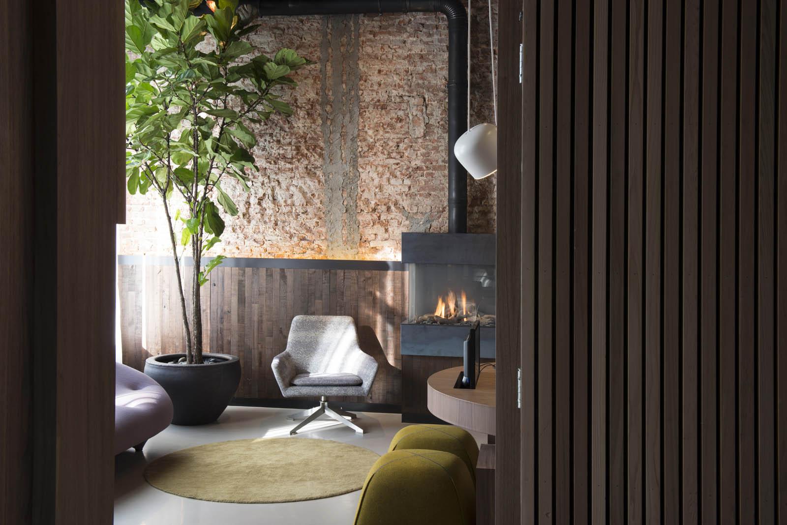 Lobby, Piet hein hotel, by Jeroen de Nijs
