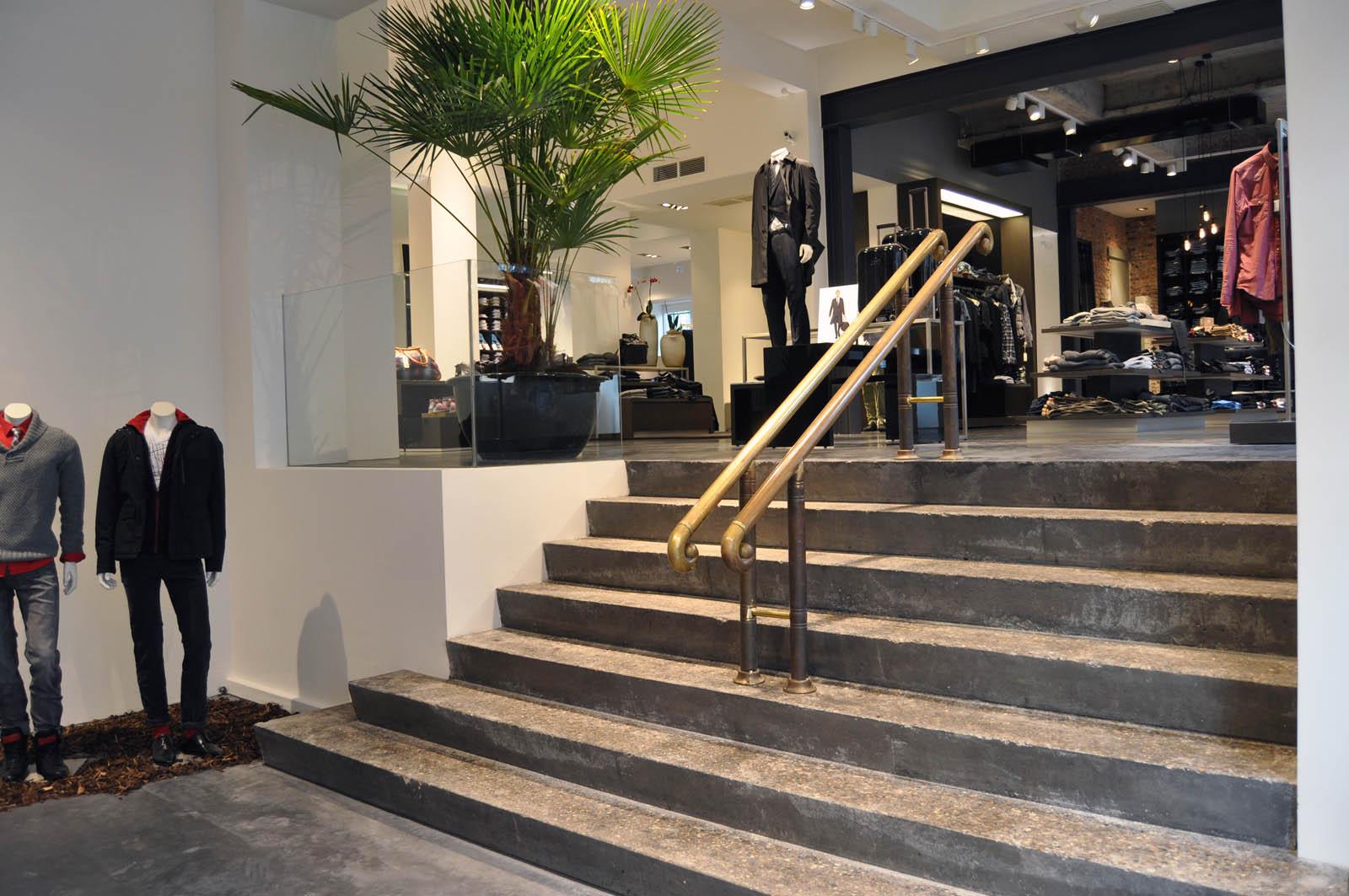 Stair, Hugo Boss in Alkmaar, by Jeroen de Nijs