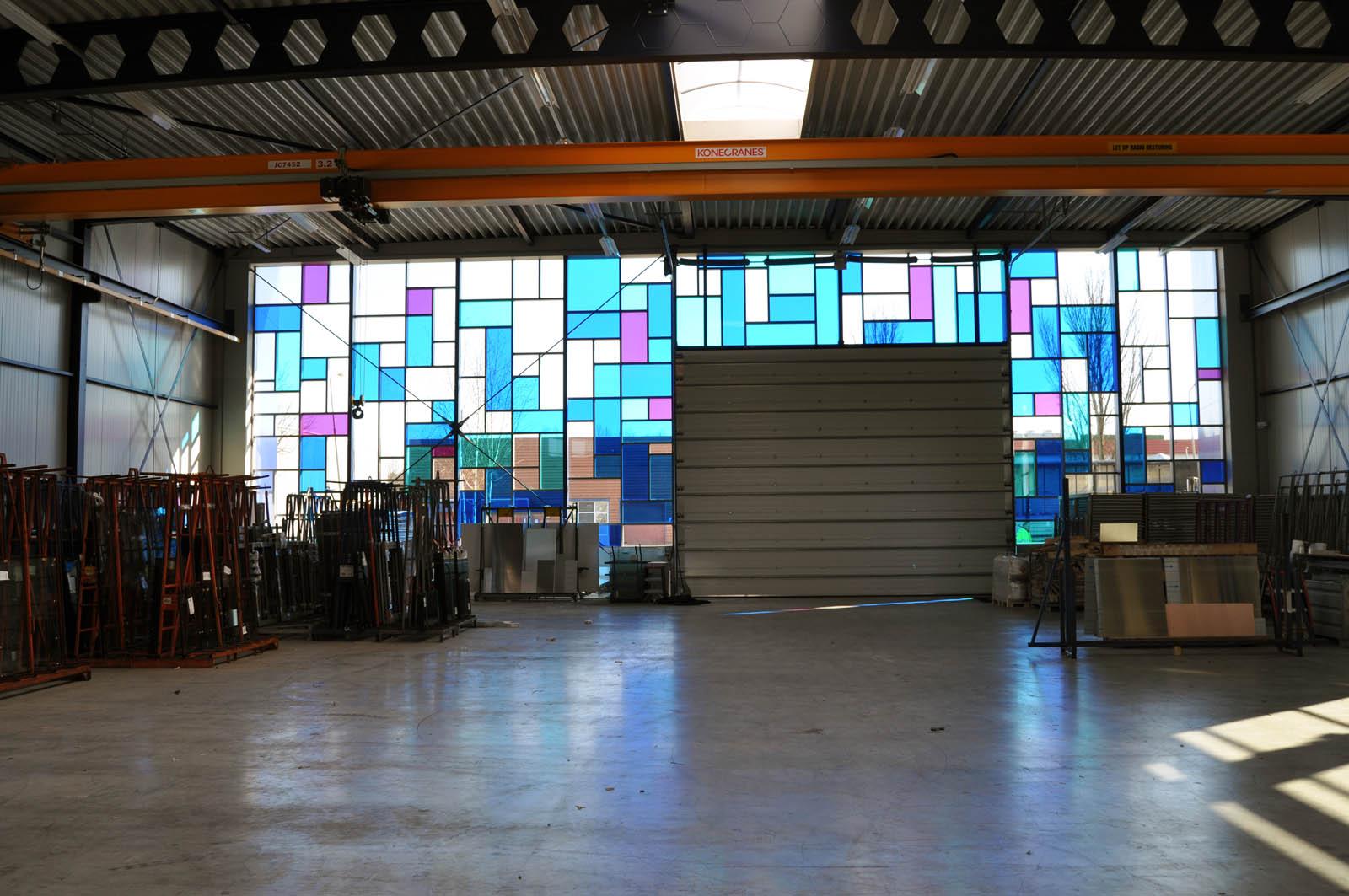 Facade, Office building Intal, by Jeroen de Nijs
