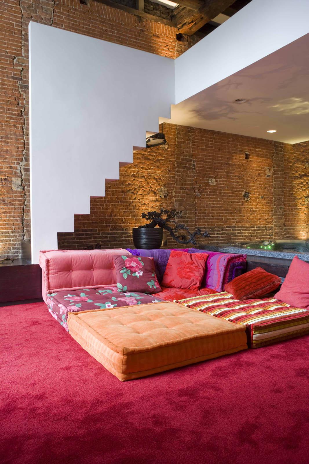 Lounge, Loft Amsterdam, by Jeroen de Nijs