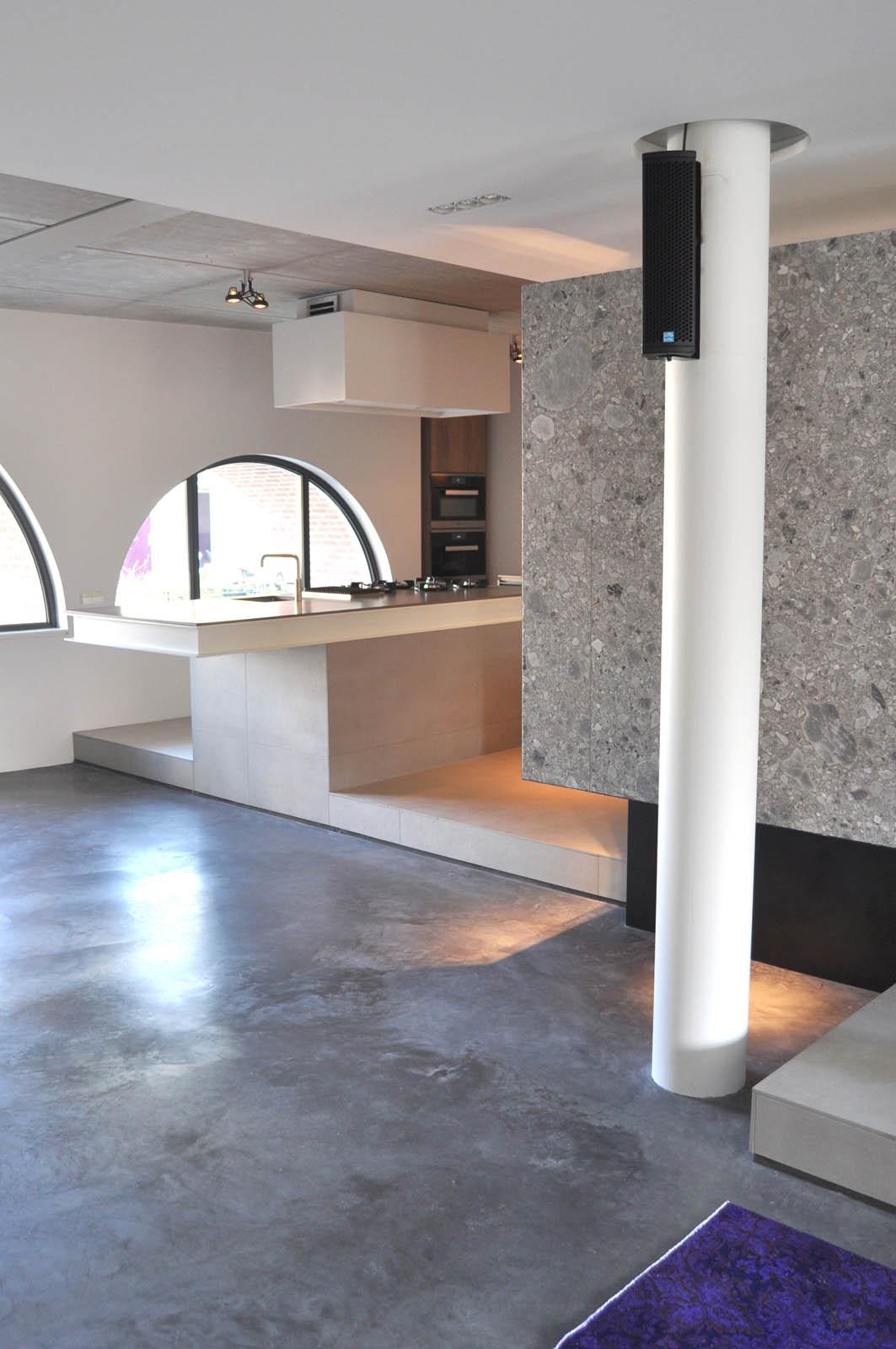 Kitchen, Loft Alkmaar, by Jeroen de Nijs