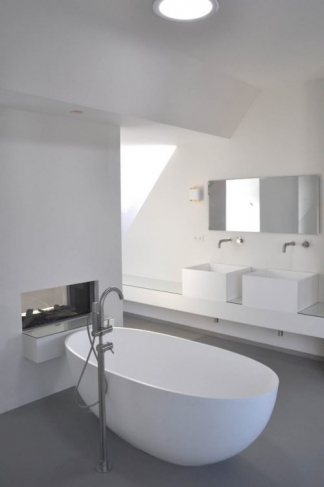 Loft Canal Bathroom, Alkmaar