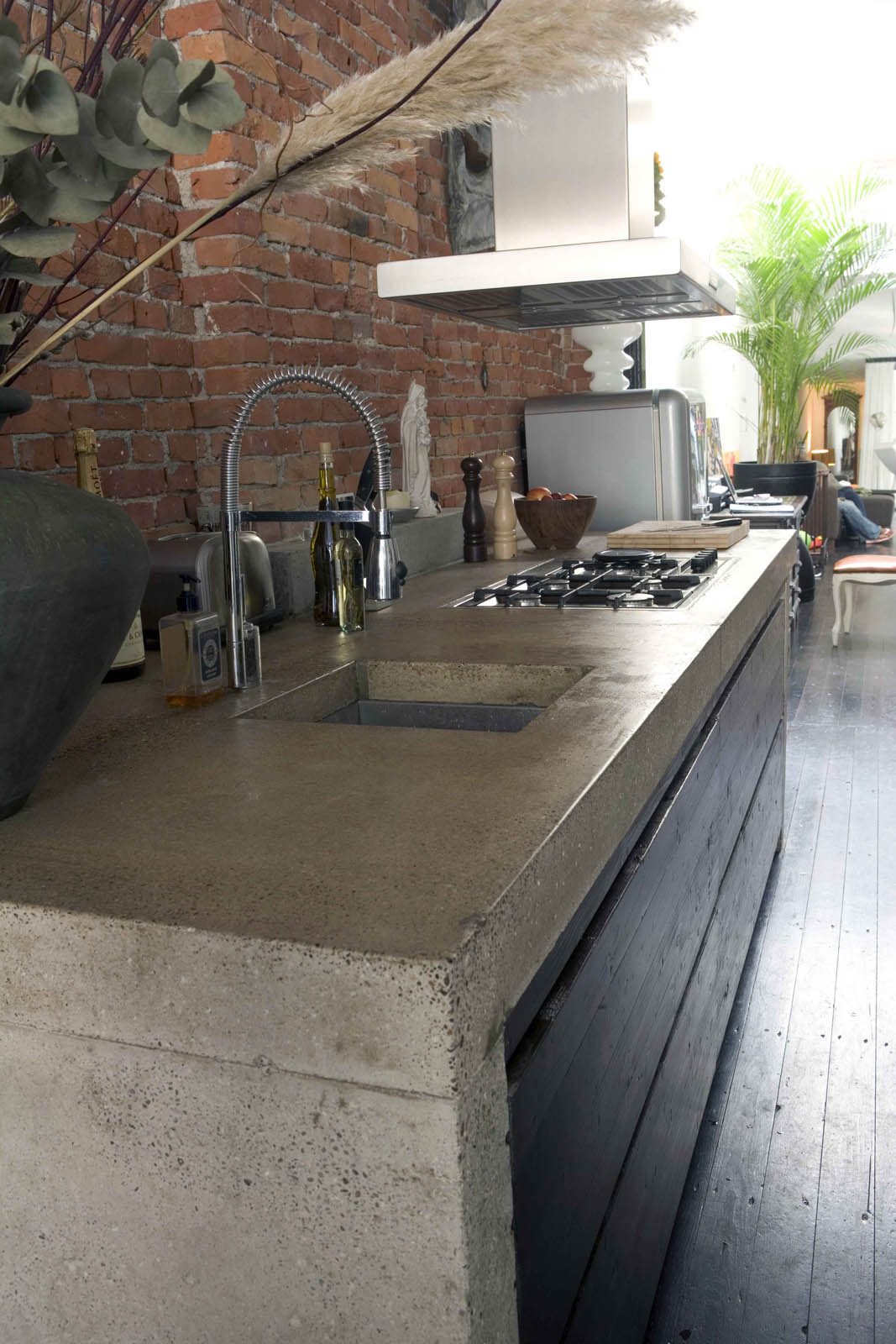 Kitchen, loft by Jeroen de Nijs