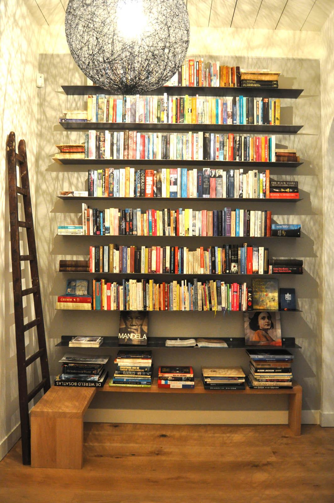 Bookshelf, Mansion Abcoude, by Jeroen de Nijs
