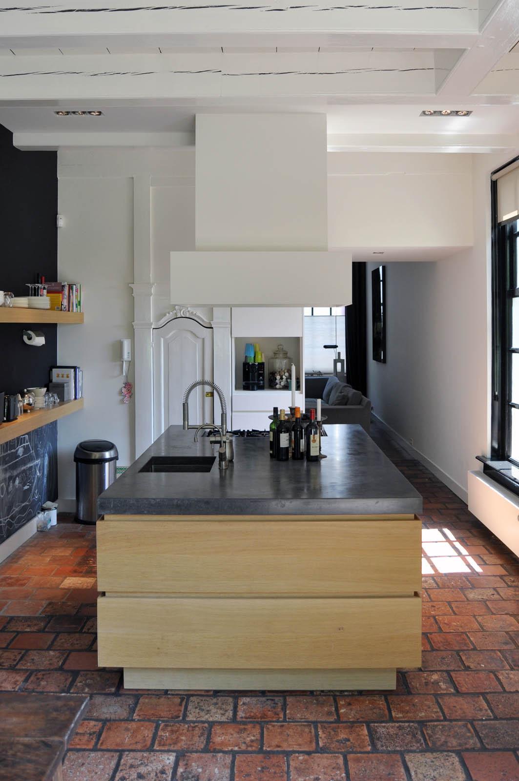 Kitchen, Mansion Abcoude, by Jeroen de Nijs