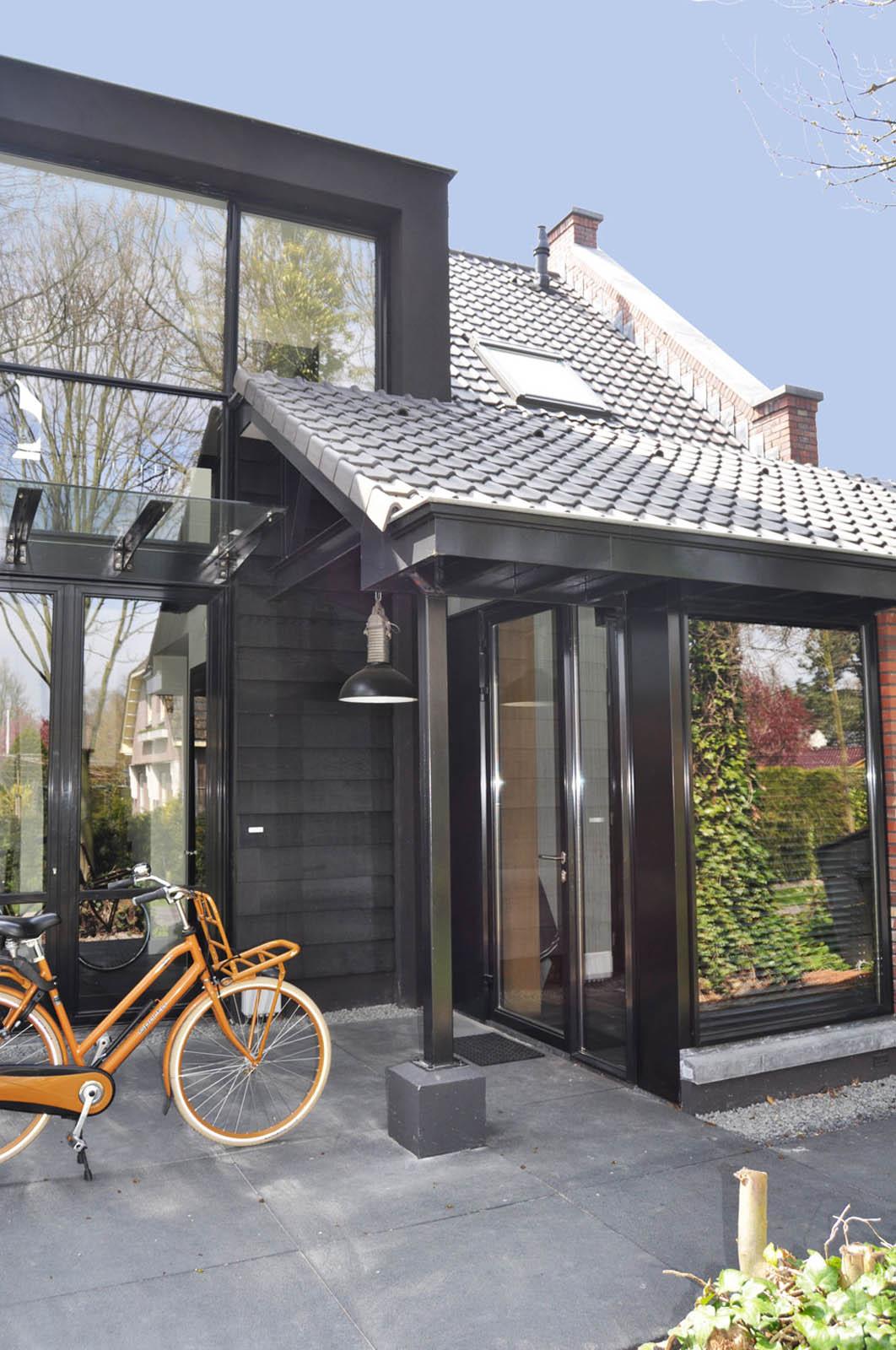 Entrance, Villa heiloo by Jeroen de Nijs