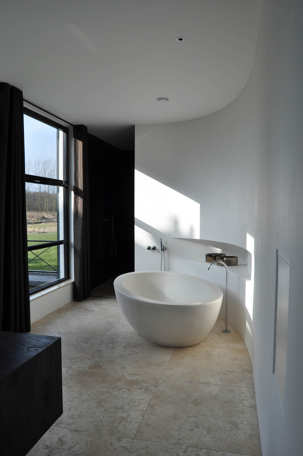 Bathroom, Villa Heiloo by Jeroen de Nijs