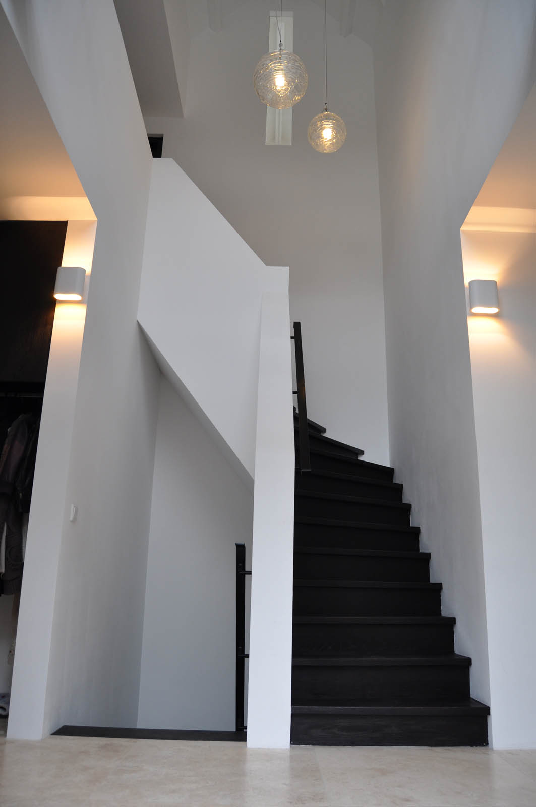 Staircase, Villa Heiloo by Jeroen de Nijs