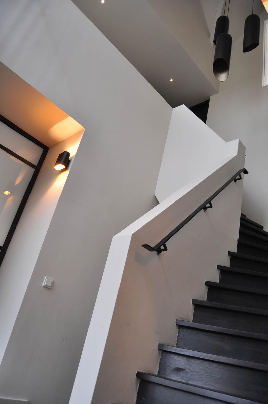 Stair, Villa Heiloo, by Jeroen de Nijs