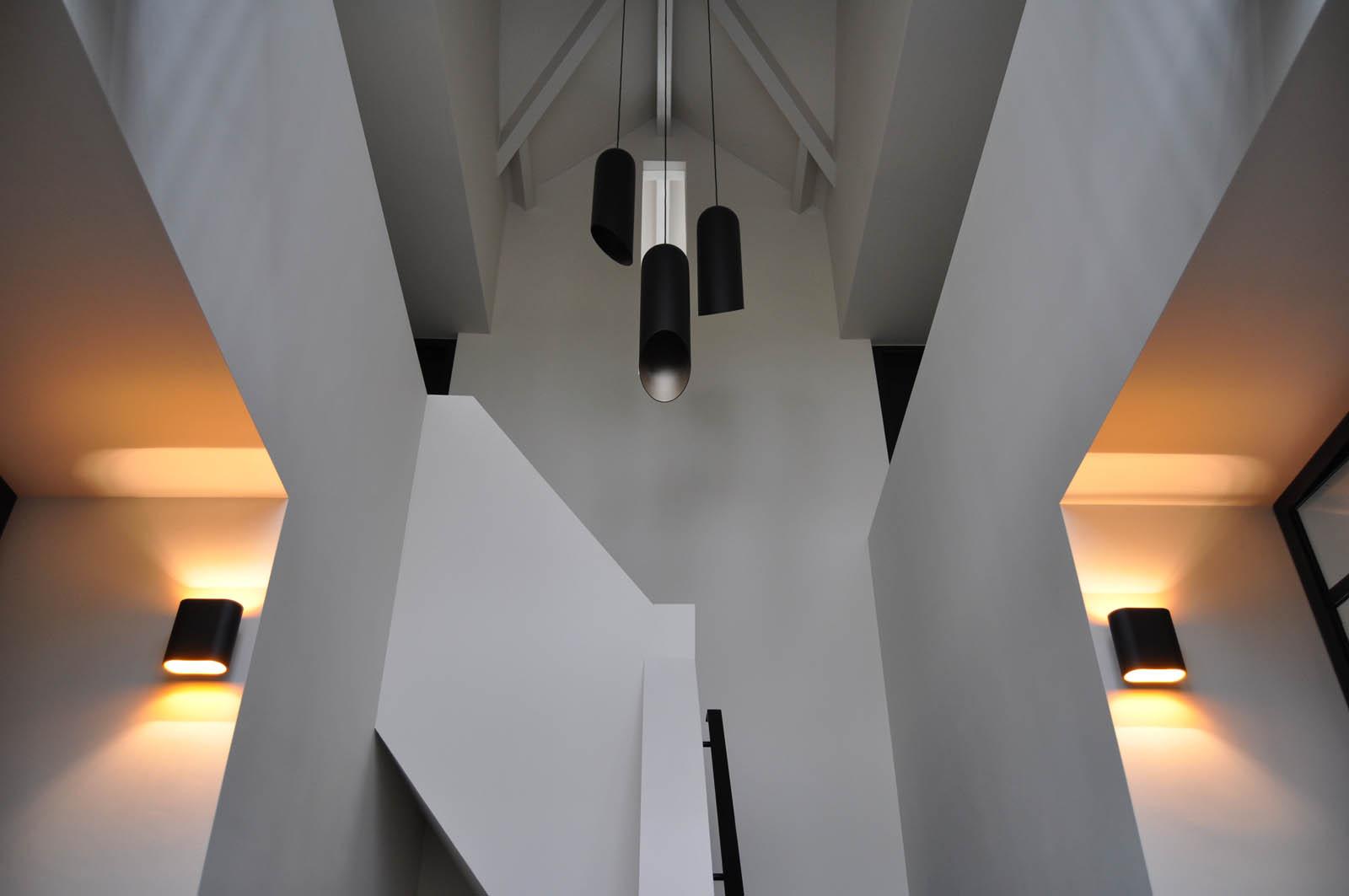 Staircase, Villa Heiloo, by Jeroen de Nijs