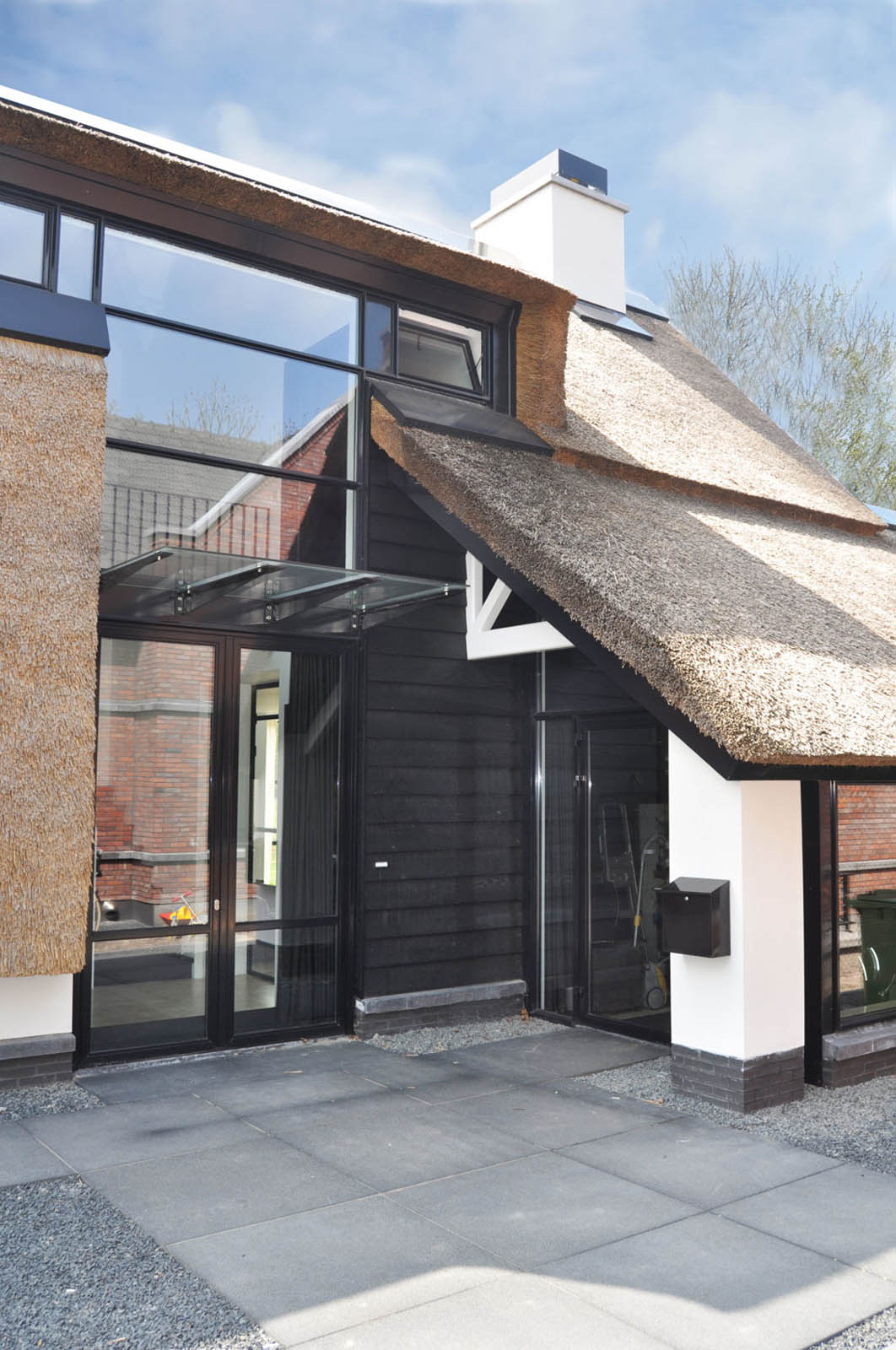 Entrance, Villa, by Jeroen de Nijs