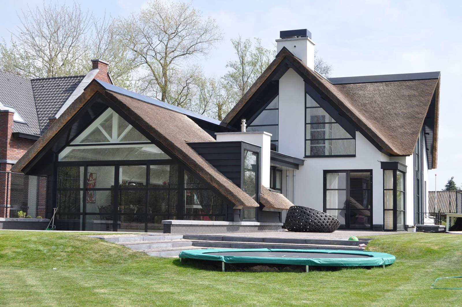 Facade, Villa, by Jeroen de Nijs
