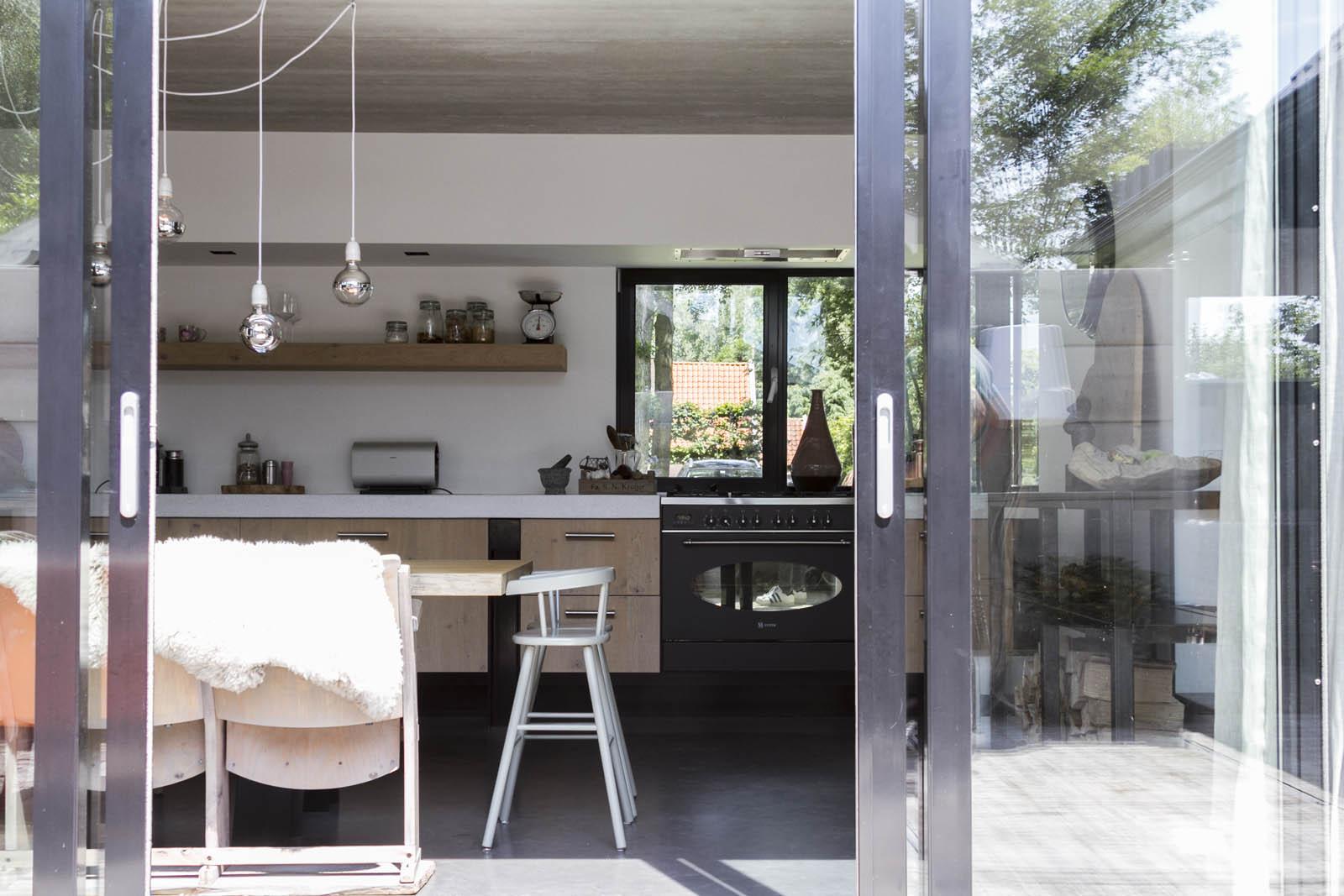 kitchen, listed building construction,Alkmaar, jeroen de nijs