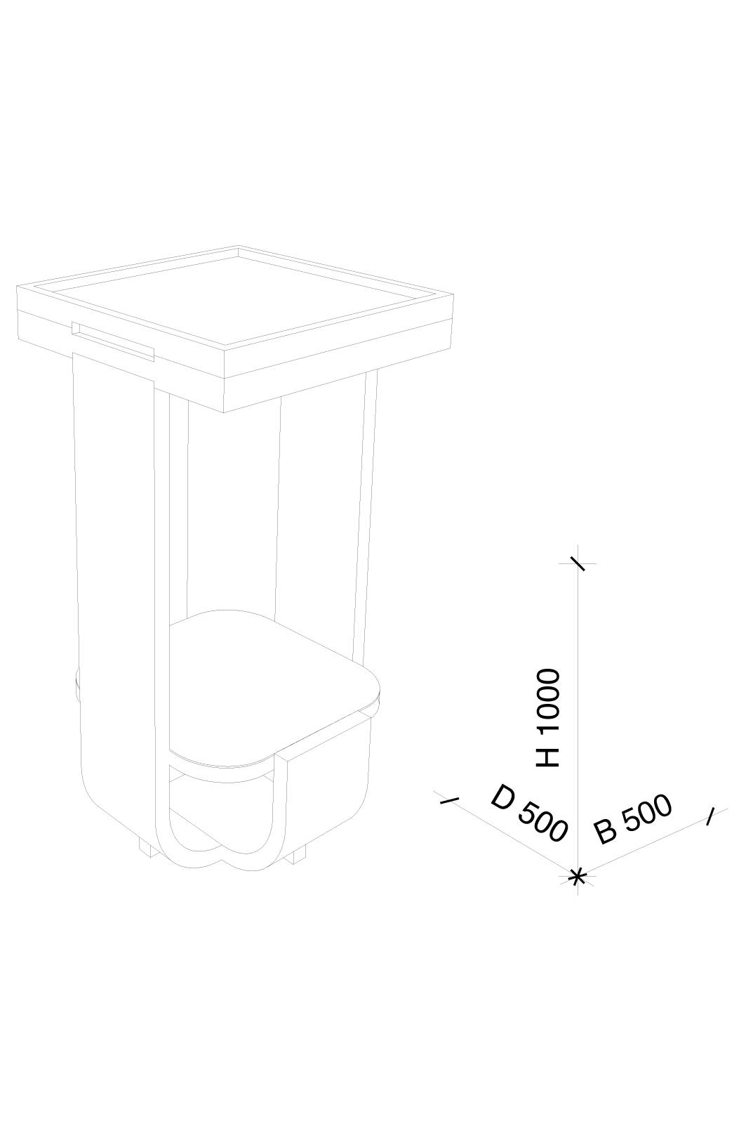 Technische tekening, Jeroen de Nijs