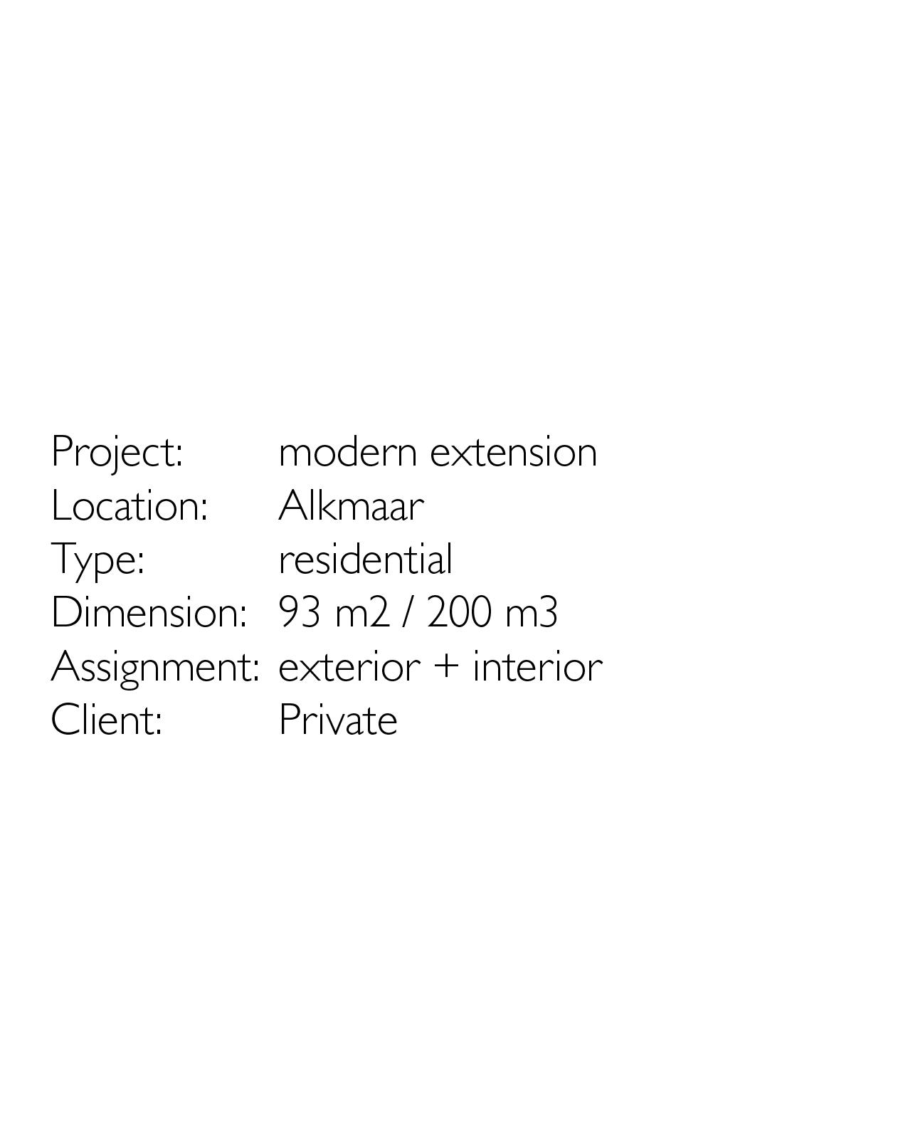 modern extension-Projectinfo-website-JDN