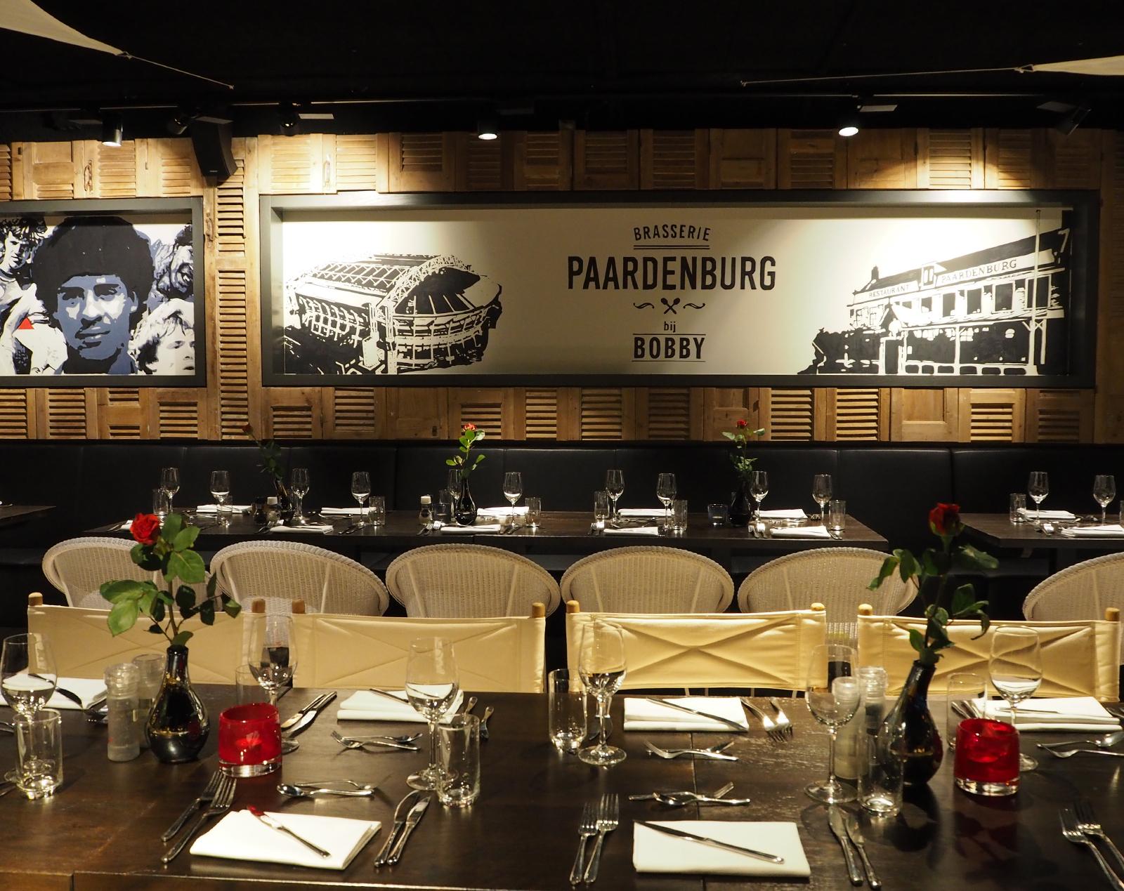 Paardenburg restaurant, Paardenburg bij Bobby, Ajax Amsterdam Arena, skybox stadion, by Jeroen de Nijs
