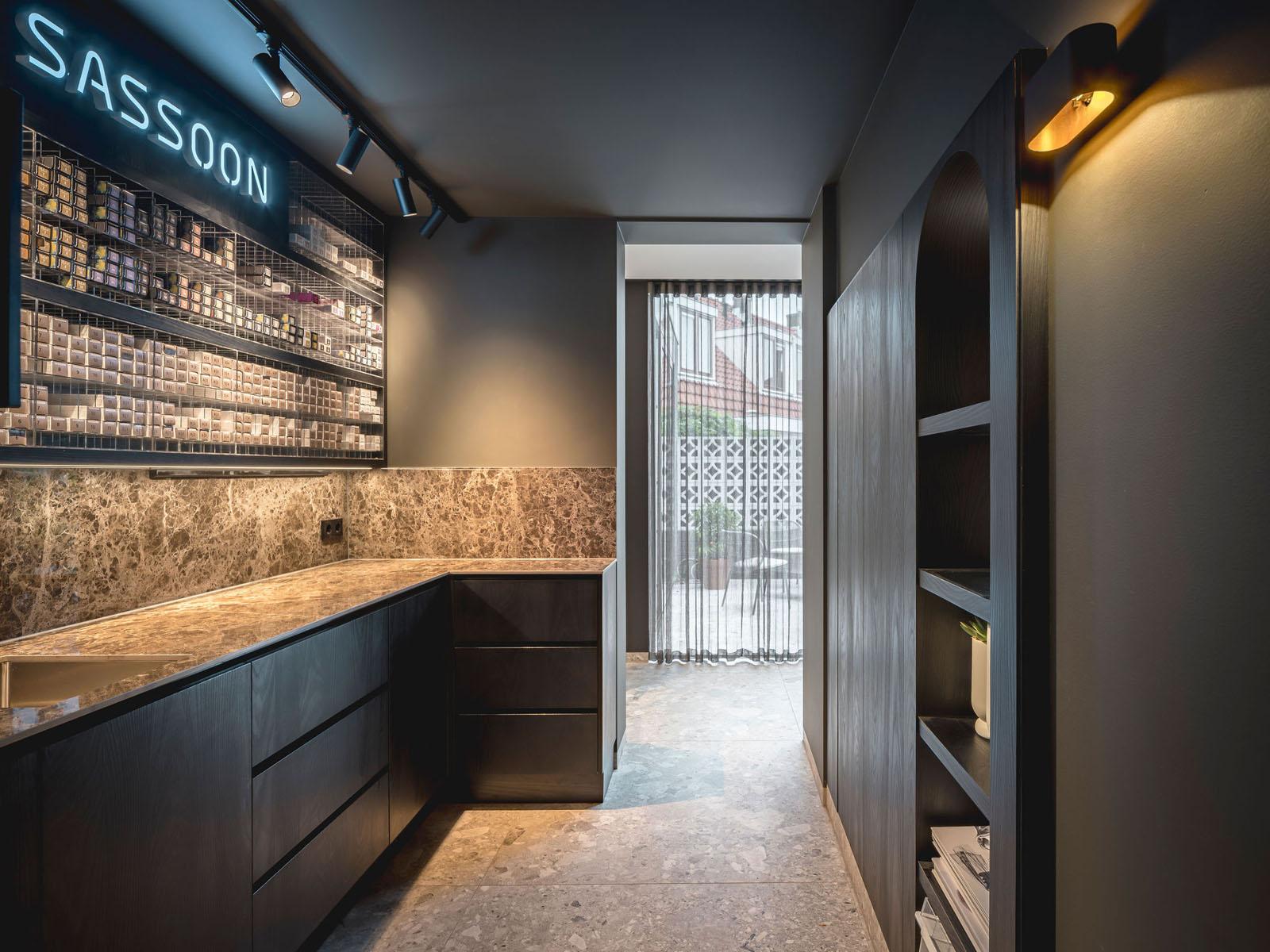 salon bosman brutalism jeroen de nijs bni colour kitchen