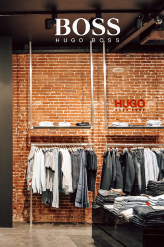 Hugo Boss store, Haarlem